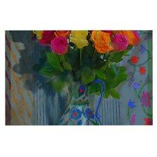 Spring Bouquet Flowers Doormat