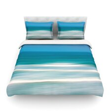 Sun and Sea by Ann Barnes Featherweight Duvet Cover