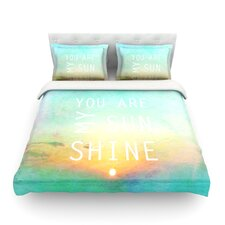 You Are My Sunshine by Alison Coxon Light Duvet Cover