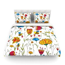 Bees by Alisa Drukman Light Duvet Cover