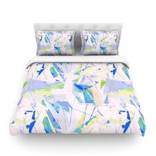 Shatter Light by Alison Coxon Featherweight Duvet Cover