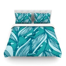 Algae by Anchobee Featherweight Duvet Cover