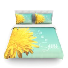 You Are My Sunshine by Beth Engel Light Duvet Cover