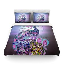 Peacock by Catherine Holcombe Duvet Cover