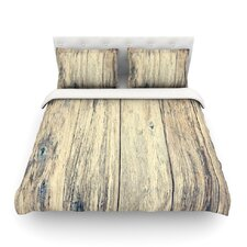 Wood Photography II by Beth Engel Featherweight Duvet Cover