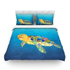 Bubbles by Catherine Holcombe Light Duvet Cover