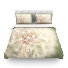 Dandelion Light by Catherine McDonald Featherweight Duvet Cover