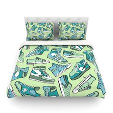 Sneaker Lover I by Brienne Jepkema Featherweight Duvet Cover
