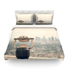 The View LA by Catherine McDonald Featherweight Duvet Cover