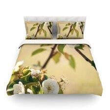 Pear Blossom Light by Catherine McDonald Duvet Cover