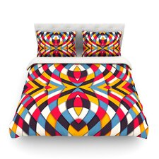 Stained Glass by Danny Ivan Light Duvet Cover