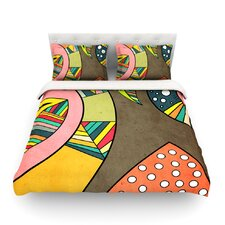 Cosmic Aztec by Danny Ivan Light Duvet Cover