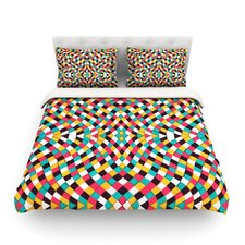 Retro Grade by Danny Ivan Featherweight Duvet Cover