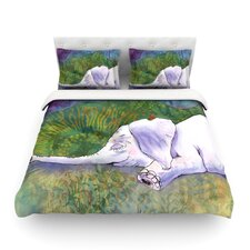 Ernie's Dream by Catherine Holcombe Light Cotton Duvet Cover