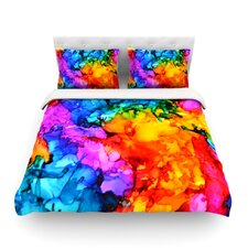 Sweet Sour II Light by Claire Day Duvet Cover