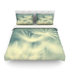 Snowflake by Ingrid Beddoes Light Duvet Cover