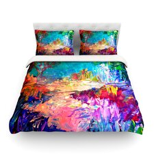 Welcome to Utopia by Ebi Emporium Featherweight Duvet Cover
