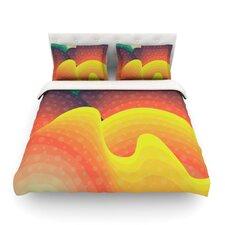 Waves Waves by Akwaflorell Light Duvet Cover
