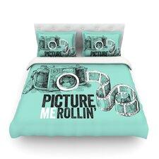 Picture Me Rollin Light Cotton Duvet Cover
