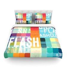 Flash Light Duvet Cover