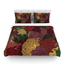 Flowers by Jaidyn Erickson Light Cotton Duvet Cover