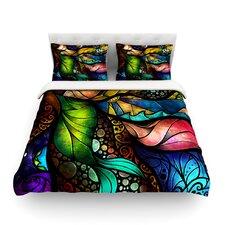 Sleep and Awake by Mandie Manzano Light Duvet Cover