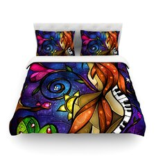 Tell Me Stories by Mandie Manzano Light Duvet Cover