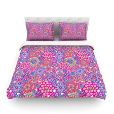 My Happy Flowers by Julia Grifol Light Duvet Cover