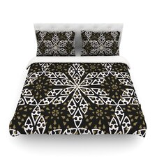 Ethnical Snowflakes by Miranda Mol Light Duvet Cover