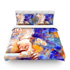 A Deeper Sleep by Kira Crees Light Cotton Duvet Cover
