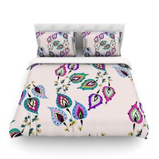 Leave by Louise Light Duvet Cover