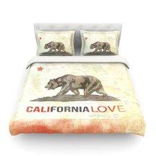 Cali Love by iRuz33 Light Duvet Cover