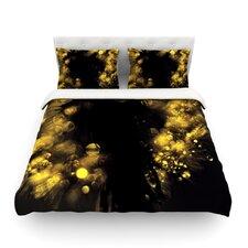 Moonlight Dandelion by Ingrid Beddoes Light Cotton Duvet Cover