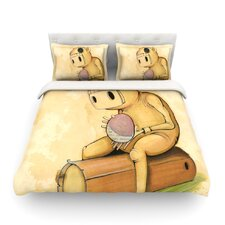 In All The While by Matthew Reid Featherweight Duvet Cover