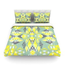 Joyful Teal by Miranda Mol Light Duvet Cover