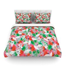 Flying Tulips by Akwaflorell Featherweight Duvet Cover