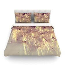 Sparkles of Gold by Ingrid Beddoes Light Duvet Cover