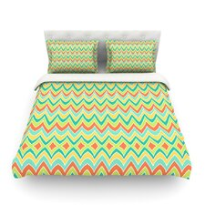 Bright and Bold by Pom Graphic Design Cotton Duvet Cover