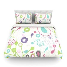 Bird Song by Nicole Ketchum Duvet Cover