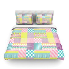 Patchwork by Louise Machado Featherweight Duvet Cover