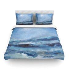 Rough Sea by Iris Lehnhardt Light Duvet Cover