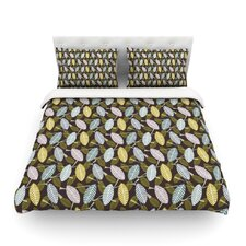 Moss Canopy by Julie Hamilton Featherweight Duvet Cover