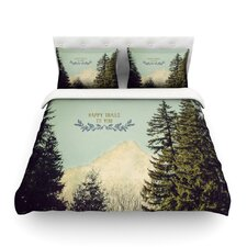 Happy Trails by Robin Dickinson Duvet Cover