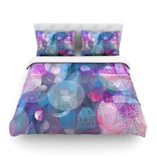 Dream Houses by Marianna Tankelevich Cotton Duvet Cover