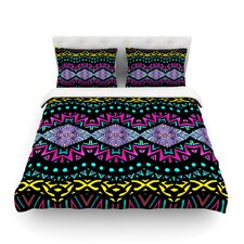 Tribal Dominance by Pom Graphic Design Featherweight Duvet Cover