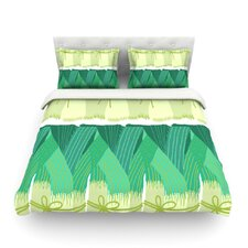Leeks by Laura Nicholson Light Duvet Cover