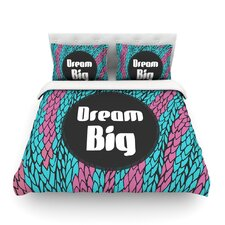 Dream Big by Pom Graphic Design Featherweight Duvet Cover