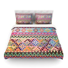 Tribal Native by Nika Martinez Featherweight Duvet Cover