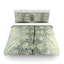Feather Light by Ingrid Beddoes Light Duvet Cover