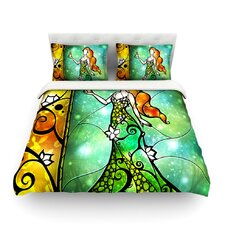 Fairy Tale Frog Prince by Mandie Manzano Light Duvet Cover